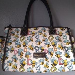 Dooney & Bourke Bee monogram Handbag